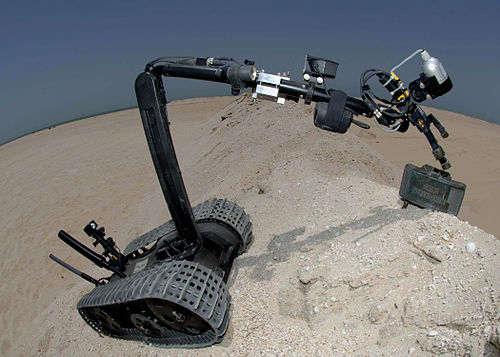 Robots And Their Trainers In Nuclear Rescue